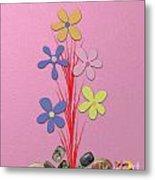 Creative Flower Metal Print
