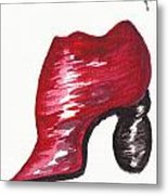 Creativity Shoe Metal Print