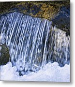 Creek In Mount Rainier National Park Metal Print