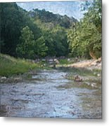 Creek Near Camp Verde  9107 Metal Print