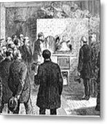 Cremation, 1876 Metal Print
