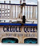 Creole Queen Metal Print