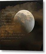 Cresent Moon  Metal Print by Joseph G Holland