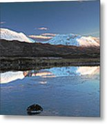Crianlarich Sunset Metal Print