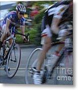 Criterium Bicycle Race 4 Metal Print