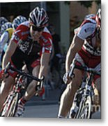 Criterium Bicycle Race 7 Metal Print