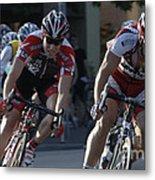 Criterium Bicycle Race 7 Metal Print