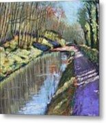 Cromford Canal Metal Print