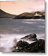 Cromwell Point Lighthouse, Valentia Metal Print