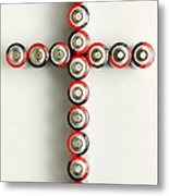 Cross Batteries 1 A Metal Print