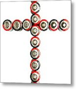 Cross Batteries 1 B Metal Print by John Brueske