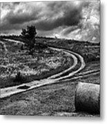Cross-roads Metal Print