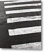 Cross Walk Metal Print