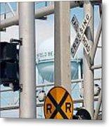 Crossing Signs Metal Print