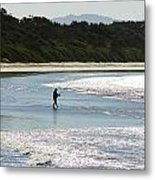 Crowdy Beach 8158 Metal Print
