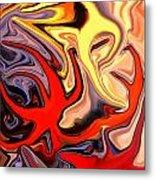 Crown Of Thorns Starfish Metal Print