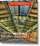 Crrnj Terminal I Metal Print