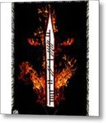 Cruel Dragon King Of Scotland Metal Print