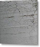 Crumbling Concrete Metal Print