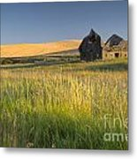 Crushed By Time Metal Print