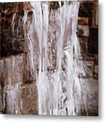 Crying Waterfall Metal Print