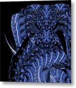 Cryptic Triptych  IIi Metal Print