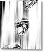 Crystal Abstract  Metal Print