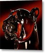 Crystal Cougar Head II Metal Print