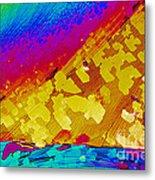Crystal Ibuprofen Metal Print