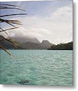 Crystal Island Bora Bora Metal Print