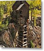 Crystal Mill 6 Metal Print