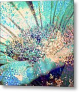 Crystal Pastel Blooms Metal Print