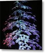 Crystal Tree In Color Metal Print