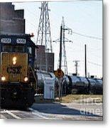 Csx Train Metal Print