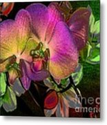 Cuddling Metal Print by Doris Wood