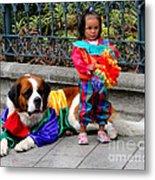 Cuenca Kids 124 Metal Print