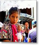 Cuenca Kids 190 Metal Print by Al Bourassa