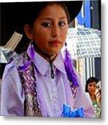 Cuenca Kids 192 Metal Print