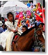 Cuenca Kids 48 Metal Print