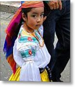 Cuenca Kids 5 Metal Print by Al Bourassa