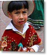 Cuenca Kids 54 Metal Print