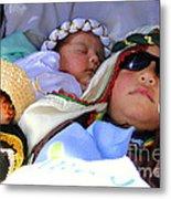 Cuenca Kids 61 Metal Print