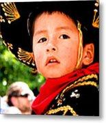 Cuenca Kids 64 Metal Print