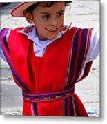 Cuenca Kids 68 Metal Print