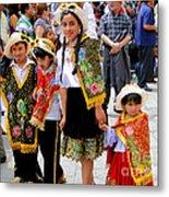 Cuenca Kids 80 Metal Print