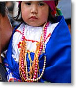 Cuenca Kids 81 Metal Print by Al Bourassa