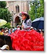 Cuenca Kids 84 Metal Print