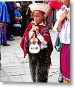 Cuenca Kids 91 Metal Print
