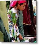 Cuenca Kids 93 Metal Print by Al Bourassa