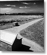 Culloden Moor Battlefield Site Highlands Scotland Metal Print